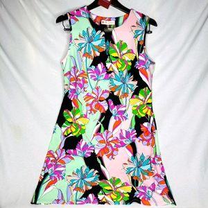 Jude Connally Nadine Shift Dress Large 101076
